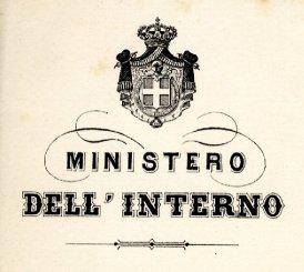 Archivio centrale dello stato guida ai fondi ministero for Ministero interno r
