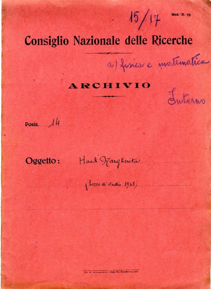 CONSIGLIO NAZIONALE DELLE RICERCHE - CNR