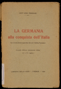 La Germania alla conquista dell'Italia