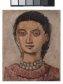 [Testa di donna (collana rossa) di Massimo Campigli]