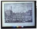 Veduta del Palazzo Vecchio del G.D. della Loggia, e della Piazza con la Festa degli Omaggi nella solennità di S.Gio. Batista Protettore della Città