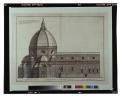 Prospetto della basilica di S. Maria del Fiore e della Cupola del Brunelleschi