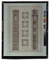 Piante e alzati esteriore et interiore del campanile del duomo di Firenze