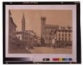 Place San Firenze et palais dit le Bargello / Florence