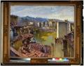 Ponte Vecchio e Borgo Stella dopo i bombardamenti tedeschi del 1944