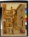 Veduta della chiesa di Sant'Andrea a Firenze scomparsa nel 1884