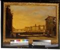 Veduta del Ponte a S. Trinita in Firenze