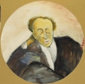 """[Ritratto di Augusto Hermet/ Collezione """"I Tondini"""" di Ottone Rosai]"""