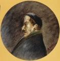 """[Ritratto di Elio Vittorini/ Collezione """"I Tondini"""" di Ottone Rosai]"""