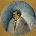 """[Ritratto di Giuseppe Cesetti/ Collezione """"I Tondini"""" di Ottone Rosai]"""