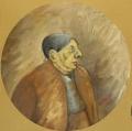 """[Ritratto di Giorgio de Chirico/ Collezione """"I Tondini"""" di Ottone Rosai]"""
