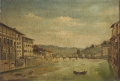L'Arno e il Ponte alle Grazie da Ponte Vecchio