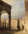 veduta di piazza della Signoria a Firenze