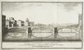 veduta del ponte a Santa Trinita