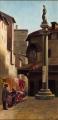 Piazza del Mercato Vecchio e il Torrione dell'Arte della Lana