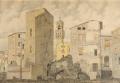 Via Lambertesca: la torre dei Gherardini restaurata