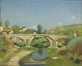 Paesaggio con ponte
