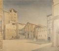 veduta di piazza S. Stefano a Firenze