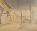 veduta di piazza di Parte Guelfa a Firenze