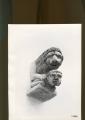 mensola: leone che ghermisce un uomo