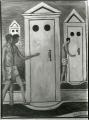 [Les bains mystérieux di Giorgio De Chirico]