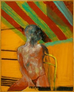 figura maschile seduta