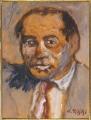 ritratto del pittore Mino Maccari