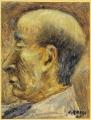 ritratto dello scrittore e pittore Ardengo Soffici