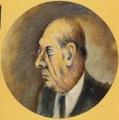ritratto dello scrittore Domenico Giuliotti