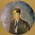 ritratto del poeta Alessandro Parronchi