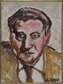 ritratto dello scrittore Piero Bigongiari