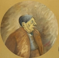 ritratto del pittore Giorgio de Chirico