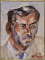 ritratto del poeta Mario Luzi