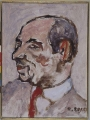 ritratto del gallerista Tonino Chiurazzi