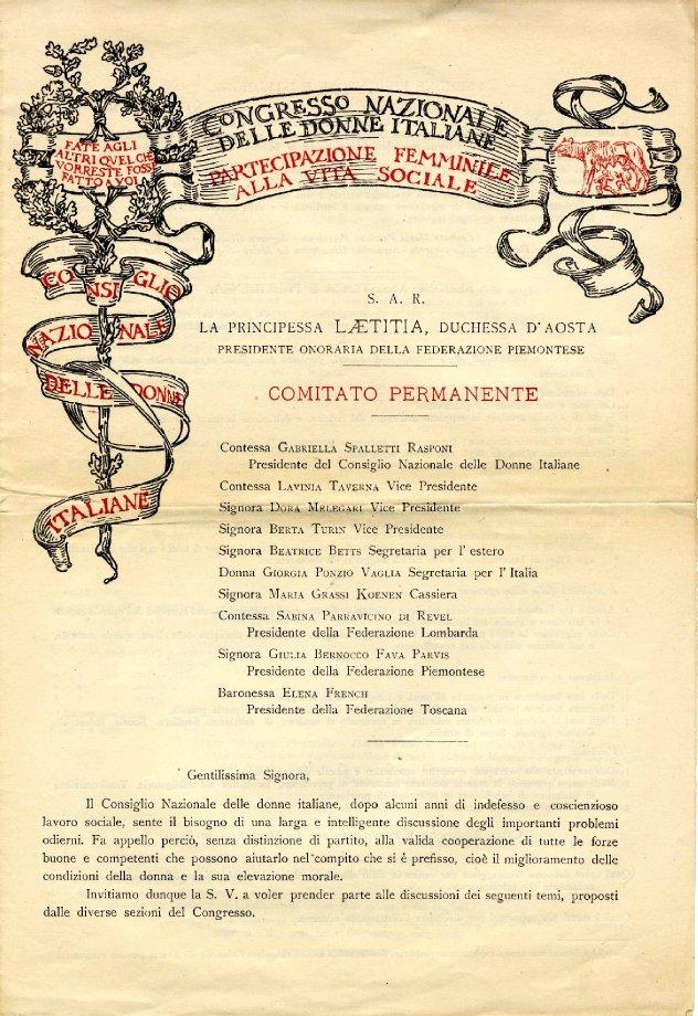 Consiglio nazionale donne italiane
